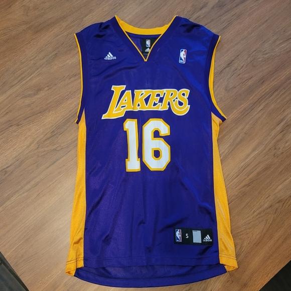 Lakers Pau gasol jersey